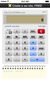 Calculator-iSkins-app