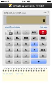 Calculator-iSkins-app