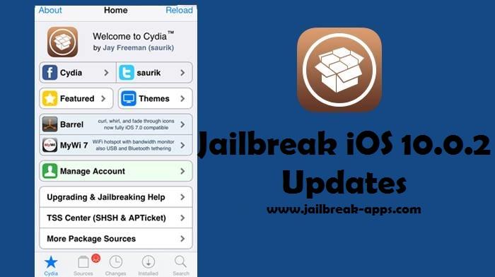 jailbreak iOS 10.0.2